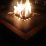 Pacific Beacon Rooftop Firepit night