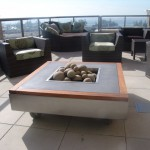 Pacific Beacon Rooftop Firepit view 1