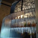 Faceted Resin Screen and Light